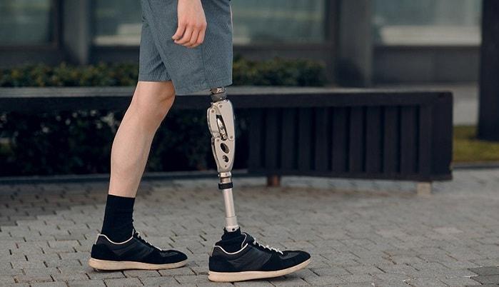 قطع پا پروتز پای مصنوعی